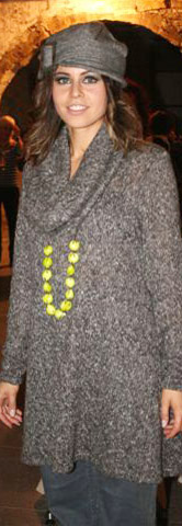 Kleid oder Longpulli in weichem Strick (2)