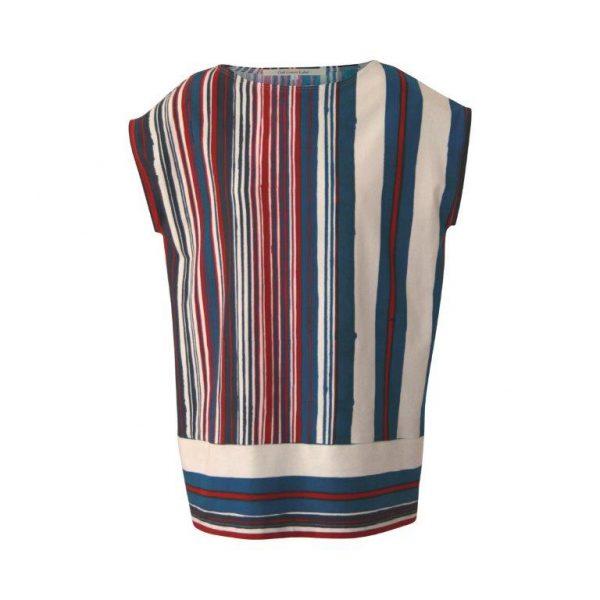 GaliGreenLabel Jerseyshirt Maritime aus Öko-Baumwolle-Elasthan
